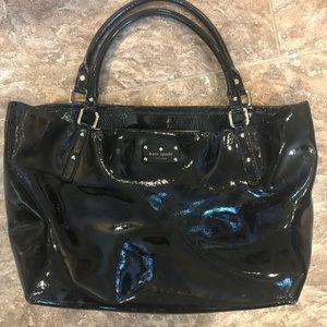Kate Spade Black patent purse